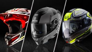 different types of helmets