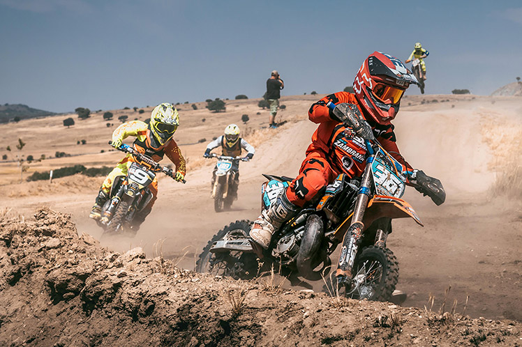 The history of the dirt bike.